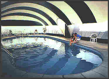 Swimming Pool and Tennis Court Air Dome Cover